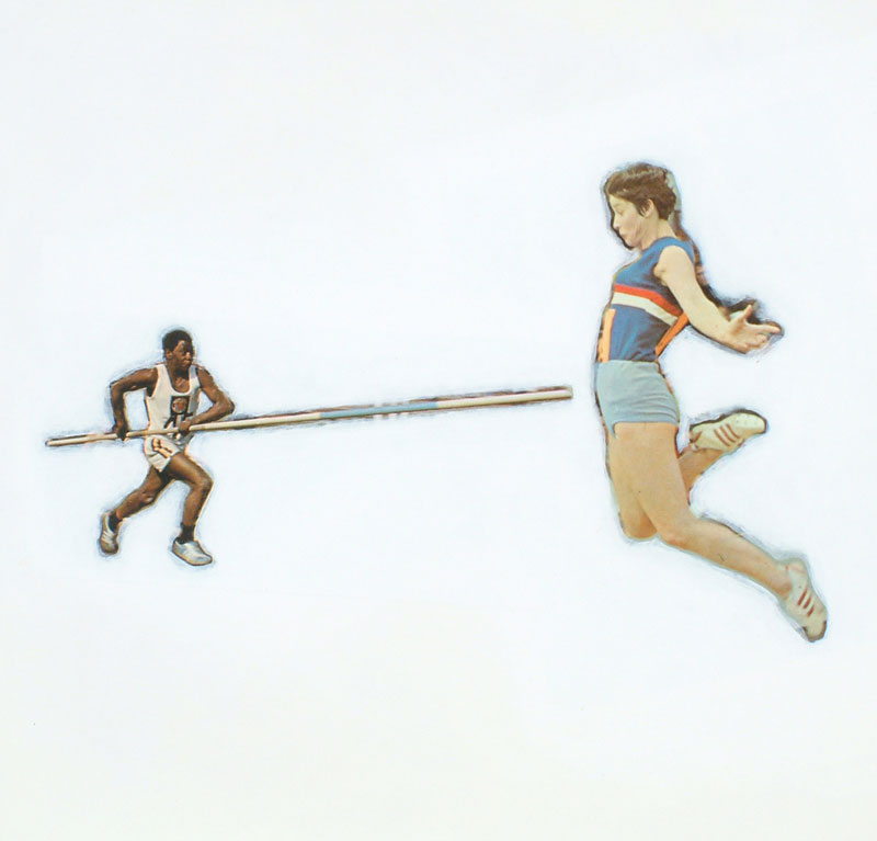 JONATHAN MEYER, Track & Field 5, 2003, private collection, USA